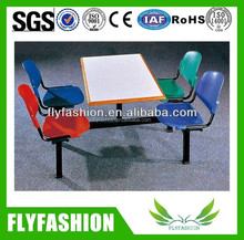Hot Sale Modern canteen dining table/used restaurant dining table
