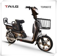 mini electric scooter china electric bike adult tailg e bike with pedals for sales TDR907Z