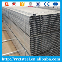 gi square pipe erw steel tubing black square tube prime quality