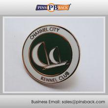 1.25inch , Die struck -Brass material -Custom cloisonne hard enamel pins , Metal enamel emblem
