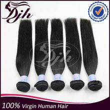 Grade 6A Peruvian Virgin Hair Straight 100% Peruvian Human Hair Extension