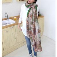 1pc hot sale cheap make in china beautiful design fashion wear scarf neckerchief muffler women
