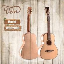 handmade high grade all solid maple wood travel guitar W002000