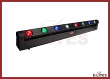 Auto/Sound active led rgbw 8x8watt high power beam light/strip bar light