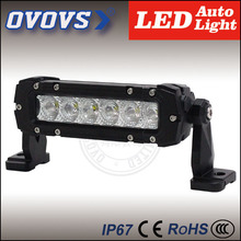 OVOVS cheap light bars wholesale car vehicle 30w led light bar 12v for trucks