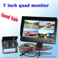 Hot 7inch car front view camera system auto parking sensor (LW-070Q-A2)