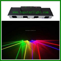 2015 dj led light low price promotion stage laser light 4 head rgby color laser on china market