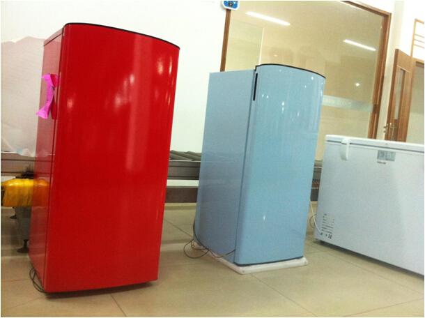 vintage style unique porte rouge bleu r frig rateur r frig rateur r frig rateur id de produit. Black Bedroom Furniture Sets. Home Design Ideas