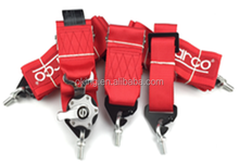 "Racing Street 5Point Bolt-In 3"" Seat Belt Harness (Red)"