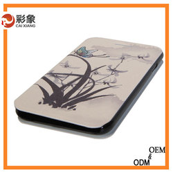 Cheap wallet leather cell custom phone cases for Iphone5