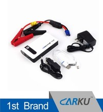 latest carku epower-03 power bank 8000mah with car jumper cable jump start battery booster