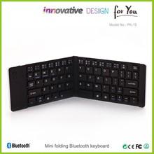 De lujo de alta- tec azul blanco teclado inalámbrico/mini bluetooth inalámbrico de teclado