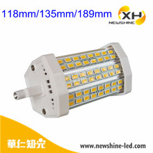 12W double ended 118mm high lumens dimmable R7S led lamp