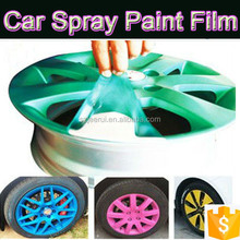 white,black,yellow,orange,blue,pink matte silicone rubber coating paint for car plastic dip,solar proof,paint protection coating