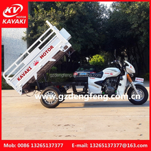 Cargo Tricycle, Three Wheel Motorcycle (with optional engines and loading capacity / cargo boxes size)