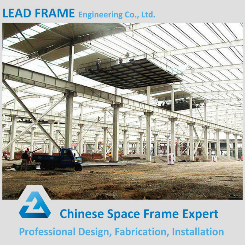 Steel roof truss design for prefab steel structure for Prefab trusses prices