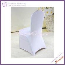 cheap banquet wedding spandex white chair cover for sale made in China