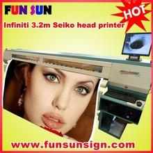 Infiniti FY-3208R 8 seiko 510/35pl heads (3.2m,fast printing speed)