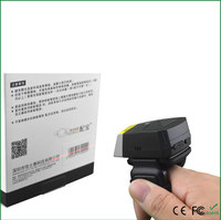 Wearable FS01 Laser Barcode Scanner Scan 1D barcode to Android/IOS Smart Phone