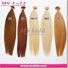 nice virgin reasonable customized light blonde hair clip in extensions
