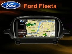 All-in-one In-dash car DVD GPS player for ford fiesta