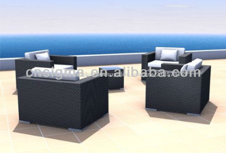 ext rieur en rotin meubles de jardin patio 2014 5 pi ces sofa en osier ensemble de meubles de. Black Bedroom Furniture Sets. Home Design Ideas