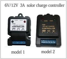6V / 12V 3A killing lamp solar controller factory direct control rain