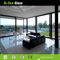 6MM Low-e +9A+6MM Frameless Tempered Hollow Glass Windows And Doors
