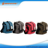 Multifunctional Quick Access Canvas fancy Camera Bag for digital camera