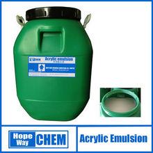HOPE WAY chemical Styrene Acrylate Coating Emulsion Latex for Interior and exterior Wall Paint