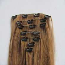 China Factor Grade 7a Hair 30 Inch Human One Piece Hair Extensions Clip In , Clip In Hair Extensions For White Women