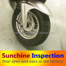 electric scooters supplier inspection /factory audit/quality check