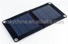 foldable solar charger, 10.5Watt USB-port 5V solar phone charger for mobile phone/Ipad/power bank,etc