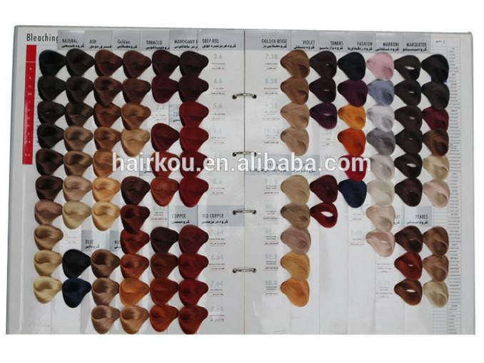 104 shades cheveux chantillon de couleur livre conception de la couleur cheveux couleur tableau - Tableau Coloration Cheveux