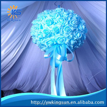 2015 Best Selling New Brand Colourful Wall Hanging Artificial Flowers for Wedding Decoration