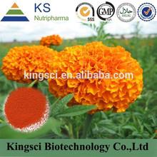 Gmp fuente del fabricante Natural de pigmento luteína polvo colorante KS-01