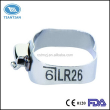 Orthodontic molar band ISO CE FDA certificated China dental supply