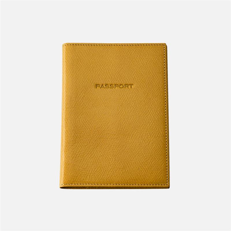 RFID passport holder popular cheap passport wallet holders leather