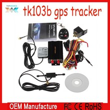 2015 new products remote control sim card vehicle gps tracker/navigationsystem like tk103b with sos panic button gps tracker