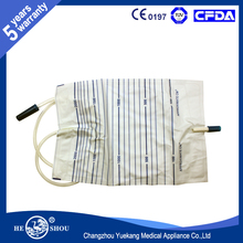 CE Certified 2000ml Disposable Urine Bag for Urine Collection