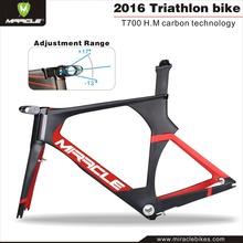 Newest Fashionable Carbon TT Bike Frame MC095,Carbon Time Trial Frame Bicycle,Triathlon Frame Carbon Full