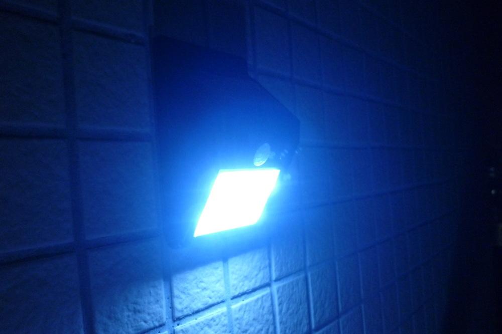 Lumi re solaire motion sensor lampe murale ext rieure - Plus rapide que la lumiere ...