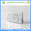 Newest hot sell plain polyester travel toiletry bag