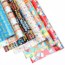 happy birthday yiwu gift wrap paper