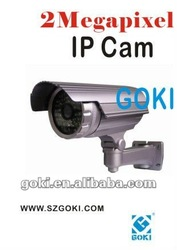 HD IR 2Megapixel Bullet IP Camera For Outdoor Use