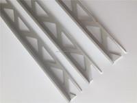 Aluminum L shaped tile trim with matt finish for ceramic tile edge