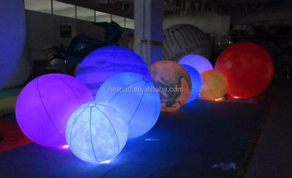 led clairage gonflable neuf plan tes le syst me solaire pour la d coration appareil gonflable. Black Bedroom Furniture Sets. Home Design Ideas