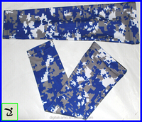 Digital Camo Compression Sports Arm Sleeve Moisture Wicking softball, baseball ,cycling sleeve