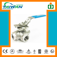Taiwan Direct Mounting Pad 3 way valve hydraulic, water valve key, synchron valve motor