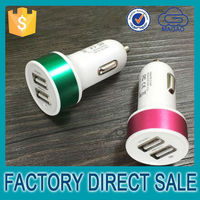 High efficiency 3.1 a car charger for samsung s4 for apple, China manufacturer usb car charger for iphone 5c
